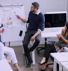 wdrożenie platformy b2b zespół pracowników